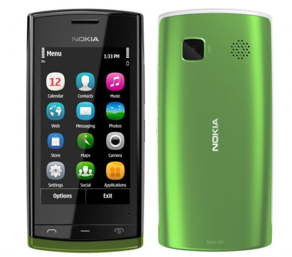 The Nokia 500 is launched