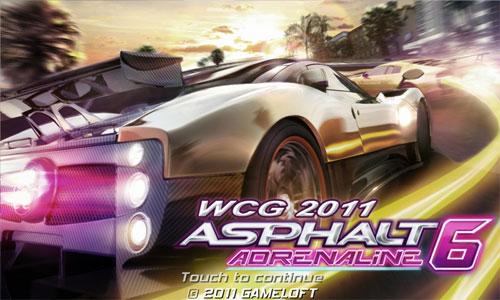 Asphalt 6 HD game free for Samsung Galaxy S II users