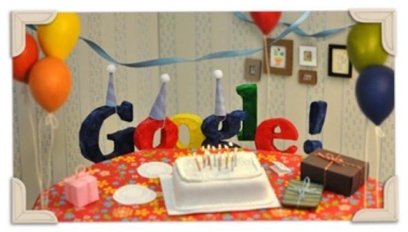 Google Celebrates its 13th Birthday