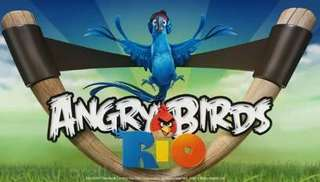 Angry Birds Rio for Java Supported Mobiles