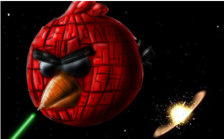 Angry Birds Heading Into Space