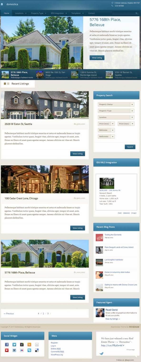 Domestica Premium WordPress Theme