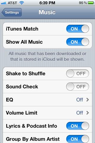 iOS Music Match