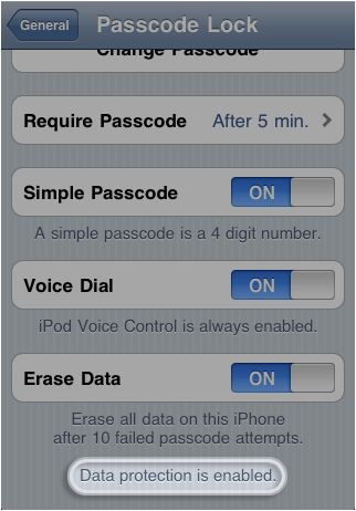How to Encrypt iPhone