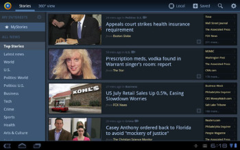News360 for Tablets