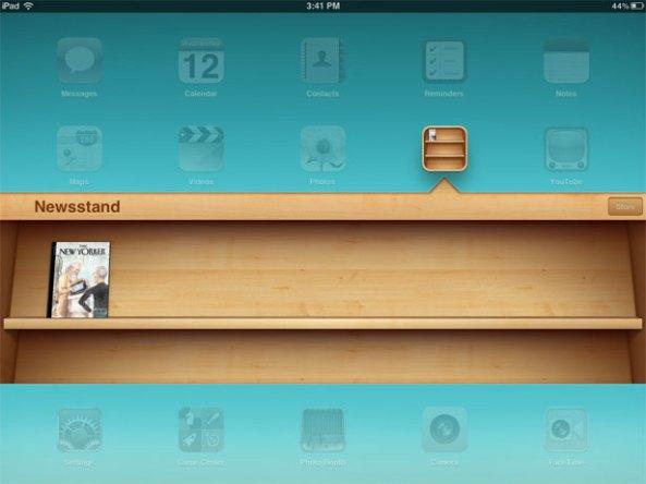 Newsstand iPad