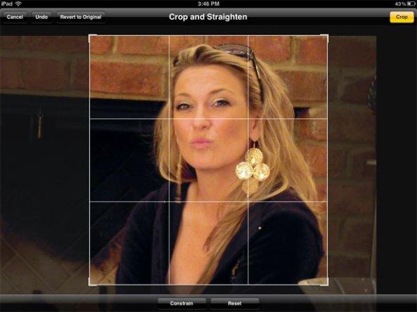 Photo Editing iPad