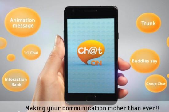 Samsung Chaton Application