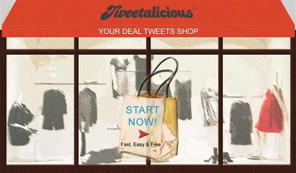 Tweetalicious - A Twitter Client for Budget Shoppers