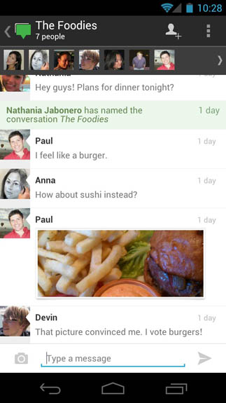 Google+ Now Updated with Ice Cream Sandwich