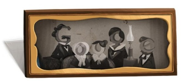 Google Today Celebrating Louis Daguerre 224th Birth Day