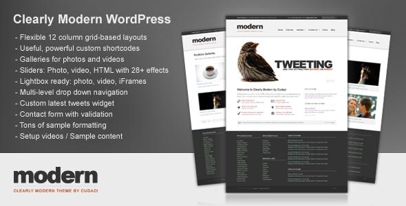 Clearly Modern Premium WordPress Theme