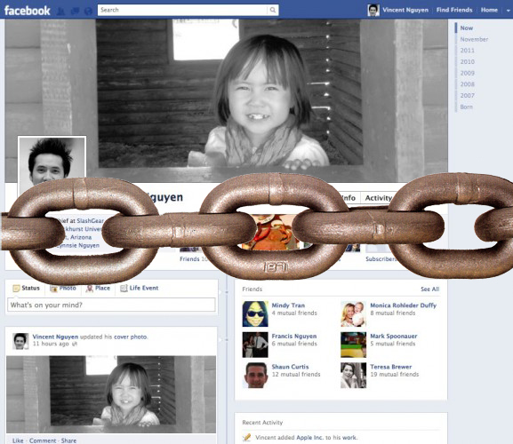 Beaware Facebook Timline Cannot be Deactivated