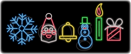 Google Logo Today - Happy Holidays