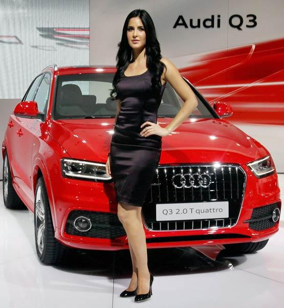 Katrina Kaif At Auto Expo 2012 Delhi Photos